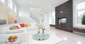60 идей дизайна интерьера белой гостиной: в каких стилях уместен? фото