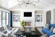 Фото 18 60 идей дизайна интерьера белой гостиной: в каких стилях уместен?