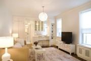 Фото 19 60 идей дизайна интерьера белой гостиной: в каких стилях уместен?