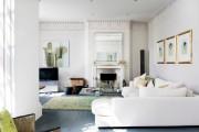 Фото 21 60 идей дизайна интерьера белой гостиной: в каких стилях уместен?
