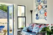 Фото 14 Декоративные тарелки на стену: 120+ ярких и запоминающихся фотоидей для уютного интерьера