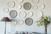 Фото 19 Декоративные тарелки на стену: 120+ ярких и запоминающихся фотоидей для уютного интерьера