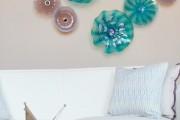 Фото 12 Декоративные тарелки на стену: 120+ ярких и запоминающихся фотоидей для уютного интерьера