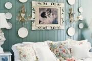 Фото 23 Декоративные тарелки на стену: 120+ ярких и запоминающихся фотоидей для уютного интерьера