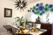 Фото 24 Декоративные тарелки на стену: 120+ ярких и запоминающихся фотоидей для уютного интерьера
