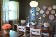 Фото 25 Декоративные тарелки на стену: 120+ ярких и запоминающихся фотоидей для уютного интерьера