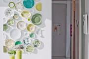 Фото 4 Декоративные тарелки на стену: 120+ ярких и запоминающихся фотоидей для уютного интерьера