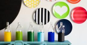 55 идей тарелок на стену: секреты необычного декора фото