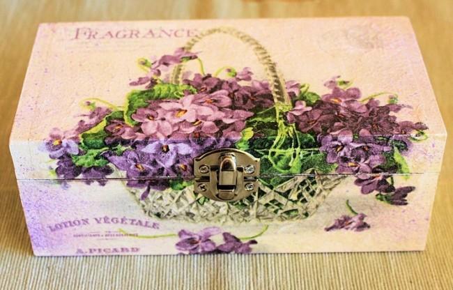 Особенность стиля прованс - цветочные мотивы и пастельные тона