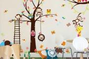 Фото 4 65 идей оформления стен в детской комнате