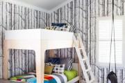 Фото 24 65 идей оформления стен в детской комнате