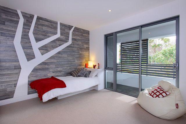 Некоторые подростки предпочитают комнату в стиле минимализма