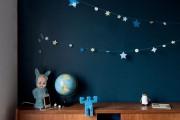 Фото 15 65 идей оформления стен в детской комнате