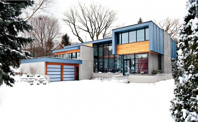 Стильный модульный дом