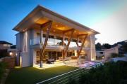 Фото 1 55 идей двухэтажных домов: фото, проекты, чертежи, варианты планировки