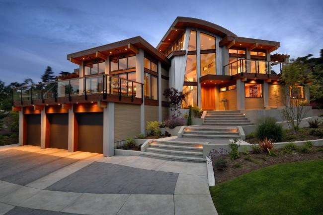 Проекты двухэтажных домов – классика загородного строительства