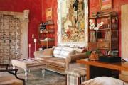 Фото 14 60 идей гобеленов в интерьере: стильное украшение стены