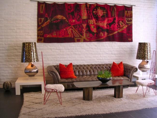 60 идей гобеленов в интерьере: стильное украшение стены
