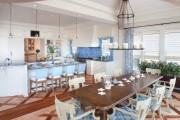 Фото 12 Голубая кухня (115+ фото небесных интерьеров): стильный дизайн для бело-голубых и серо-голубых кухонь