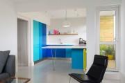 Фото 3 Голубая кухня (115+ фото небесных интерьеров): стильный дизайн для бело-голубых и серо-голубых кухонь