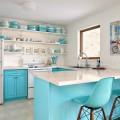 50+ идей голубой кухни: секреты дизайна и фото фото