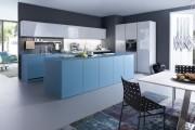 Фото 28 Голубая кухня (100+ фото небесных интерьеров): стильный дизайн для бело-голубых и серо-голубых кухонь