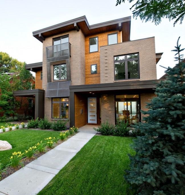 Великолепный дом в стиле модерн