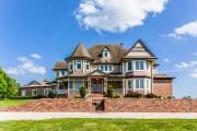 Фото 21 65 идей кирпичных домов (фото, проекты): классика частного домостроения