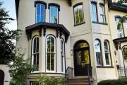 Фото 22 65 идей кирпичных домов (фото, проекты): классика частного домостроения