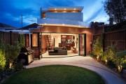 Фото 23 65 идей кирпичных домов (фото, проекты): классика частного домостроения