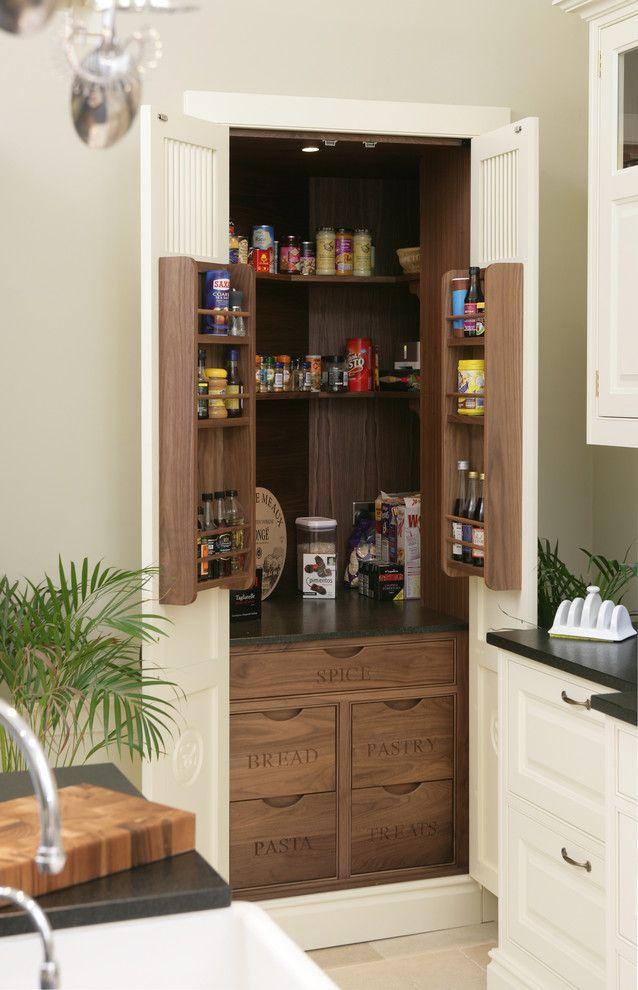 Кладовка в виде шкафа на кухне