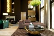 Фото 13 Кофейный столик (60+ фото): сочетаем неординарный дизайн и удобство в современной гостиной