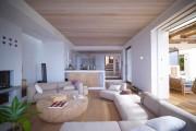 Фото 14 Кофейный столик (60+ фото): сочетаем неординарный дизайн и удобство в современной гостиной