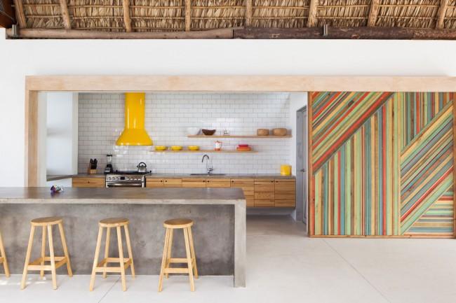 Яркие и стильные акценты современной кухни