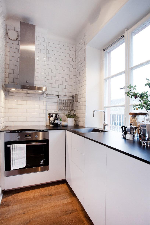 Дизайн кухни в хрущевке студия