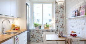 50 идей дизайна кухни в  хрущевке (фото) фото