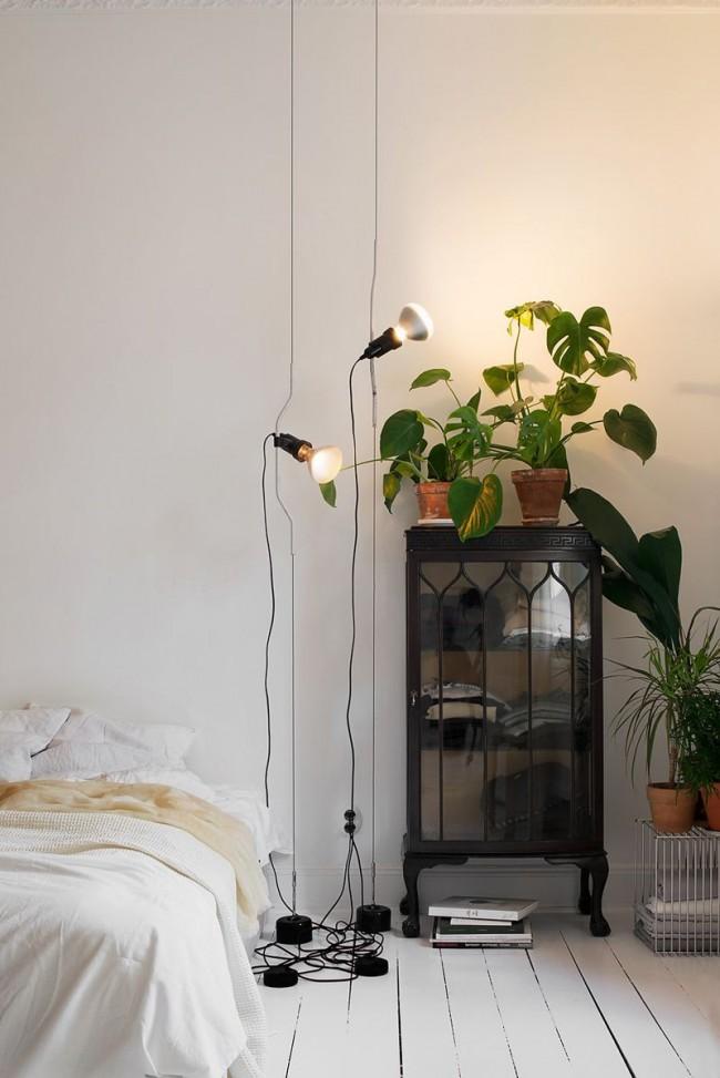 Искусственное освещение с помощью энергосберегающих ламп
