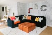 Фото 4 Оттоманка в интерьере (100+ фото): обзор моделей диванов с оттоманками для современной квартиры