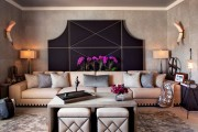 Фото 10 Оттоманка в интерьере (100+ фото): обзор моделей диванов с оттоманками для современной квартиры