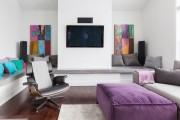 Фото 5 Оттоманка в интерьере (100+ фото): обзор моделей диванов с оттоманками для современной квартиры