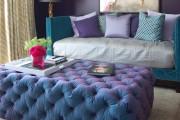 Фото 1 Оттоманка в интерьере (100+ фото): обзор моделей диванов с оттоманками для современной квартиры