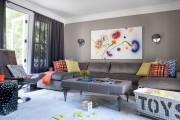 Фото 19 Оттоманка в интерьере (100+ фото): обзор моделей диванов с оттоманками для современной квартиры