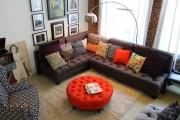 Фото 2 Оттоманка в интерьере (100+ фото): обзор моделей диванов с оттоманками для современной квартиры