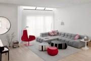 Фото 30 Оттоманка в интерьере (100+ фото): обзор моделей диванов с оттоманками для современной квартиры