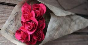 Как сделать розу из бумаги своими руками: 4 простые техники фото