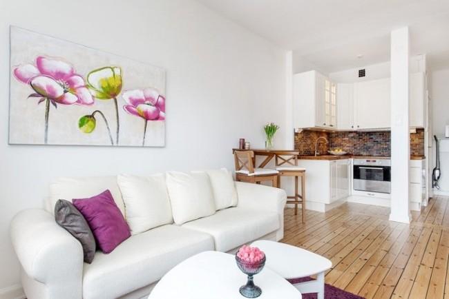 Один из секретов стильного оформления комнаты в общежитии - грамотный выбор отделки, что позволяет достаточный и частый уход за ней