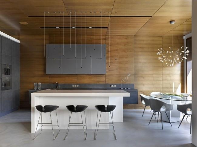 Модернизм в интерьере кухни