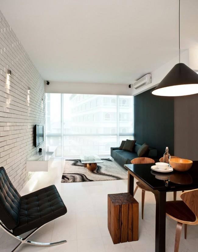 Мебель Икеа для оформления гостиной стиля модерн