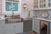 Фото 23 50 идей дизайна угловой кухни: практичное и удобное решение