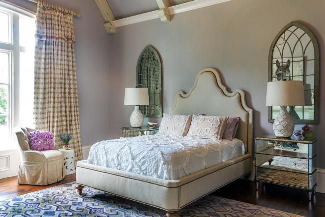 Провансовая спальня с восточными нотками изящности